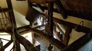 ろくざん亭 - 2階から見下ろした吹き抜け
