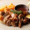 若鶏のビールフリット チェリー風味マヨネーズ