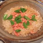 64482587 - 土鍋で炊いた桜エビと筍の炊き込みご飯