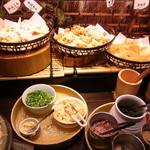 エクスブルー - 天ぷらコーナー