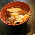 水琴茶堂 - けんちん汁(無料で食べ放題)