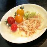 水琴茶堂 - サラダ(無料で食べ放題)