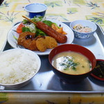 福岡県警察 中央警察署食堂 - おすすめされた定食