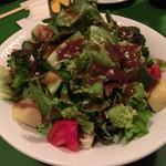 64486587 - 2017.3.8  お野菜もりもりグリーンサラダ