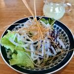 えん処 こばく亭 - ランチサラダ(ドレッシング別)