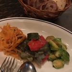 喃喃 - 前菜3種