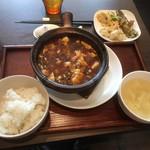 ダオフー - 特製麻婆豆腐定食980円