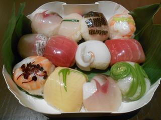 紀尾井町 ささ樹 - 手まり寿司