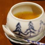 虎穴 - 雪下人参の茶碗蒸し