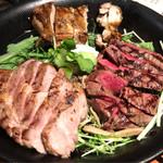 イルターボロ - 鶏肉、豚肉、牛肉のグリル  3人分