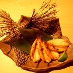 鮮魚と地酒 個室居酒屋 篤媛 - 河豚(ふぐ)の七色焼き(篤姫コース・VIPコース)