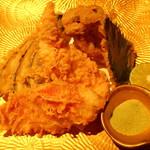鮮魚と地酒 個室居酒屋 篤媛 赤坂見附店 - 金目鯛の天ぷら(篤姫コース・VIPコース)