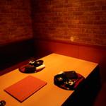 鮮魚と地酒 個室居酒屋 篤媛 - 店内1