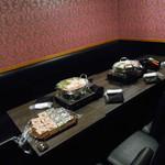 鮮魚と地酒 個室居酒屋 篤媛 - 店内2