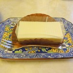 ナポレオン - ケーキ・コーヒーセットのレアチーズケーキ