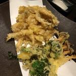 酒と飯 菜 - 白えび天ぷら