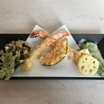 むらかみ - 料理写真:天ぷらです。