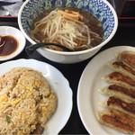 台湾料理 福源 - Cセット(ラーメン、ミニ炒飯、餃子) 税込780円