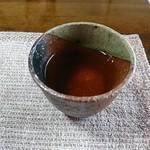 そば庭 旅人 - 蕎麦茶