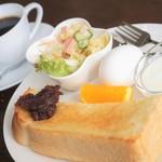 カフェ ラフィング - 料理写真:コーヒー代390円で全部付く♡