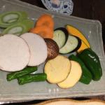 64499954 - 野菜盛り。