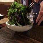 まつだ家 - 旬菜サラダ(弱気盛り)