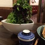 海鮮・鎌倉野菜 まつだ家 - 山盛りです・・
