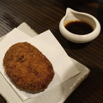 海鮮・鎌倉野菜 まつだ家 - 伊賀牛のコロッケ