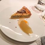 アロセリア ラ パンサ - ブルーチーズのタルト