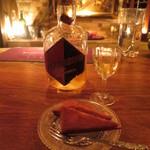 ベンフィディック - リキュール(古酒)とフィナンシェ