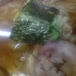 青竹手打ちラーメン龍亭 - 醤油ラーメン大盛