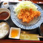 得得 - 手付け ロースかつ定食 843円