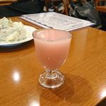 日本酒バル YODARE - 尾瀬の雪どけ 桃色 ミニ
