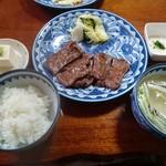 萃萃 - 牛たんセット1人前(1700円) ※税抜き