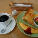 風の森 コスモポリタンカフェ - モーニングBセット