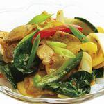 HIRA - ほうれん草とポークの炒め物