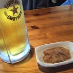 大浜丸 魚力 - ビール いかの塩辛