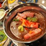 ブルーノ - 厚切りベーコンとアボカドのカレー