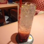 魔法の国のアリス - 7月ルビー(カシス+ローズ+ソーダ)
