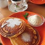 石のカフェ - パンケーキ