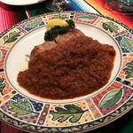 メキシカンキッチン&ドリンクEl Charro -  チキンのトマトソース添え