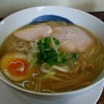 64510495 - まろやか魚介 味玉付 ¥750 2017.3