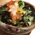 日本焼肉 はせ川 - サラダ