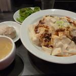 kawaramachibambi - 白い麻婆豆腐丼セット