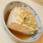 立飲み 天下 - 湯豆腐(240円)2017年3月