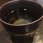 板そば蒼ひ - そば茶。うまい。