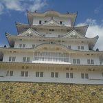 64517309 - 姫路城は、白鷺城と言われるだけあり、こんなに白い。