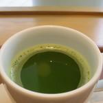 カフェ&ミール ムジ - グリーンティー(HOT)アップ