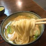 たかせや - 麺は柔めの関西風