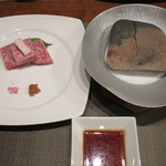 合歓のはな - 焼物:宮崎特産 宮崎牛石焼き